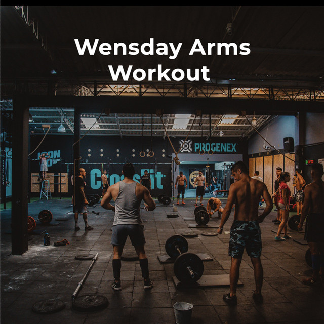 Wednesday Arms Workout